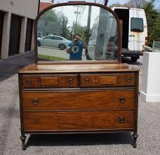 Tiger Oak Dresser Beveled Mirror by Berkey U0026 Antique Maple Dresser W Silver Mirror Quartersawn