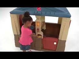 Step2 Happy Home Cottage U0026 by Unboxing My New Step2 Neat U0026 Tidy Cottage Blue Roof Review Youtube