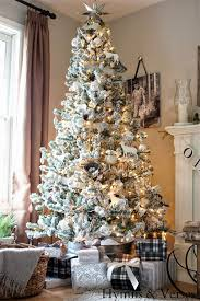 Christmas Tree Decoration Flocked A Wintry Look Of Your