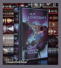 Image Is Loading Complete Fiction Of H P Lovecraft New Sealed Leather
