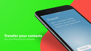 How to transfer contacts from iPhone to puter