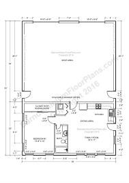 4 bedroom pole barn house plans