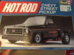 VINTAGE REVELL HOT Rod Chevy Street Pickup Model Kit Roadkill Muscle ...