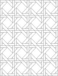 Coloring Pages Quilt Blocks 09