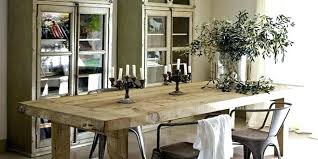 Farmhouse Style Dining Set Table With Bench Tables