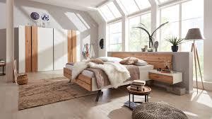 interliving schlafzimmer serie 1019 komplettzimmer 523002 wildeiche weißer mattlack vierteilig liegefläche ca 180