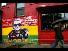 Joe Strummer Mural Address by Long Shadow