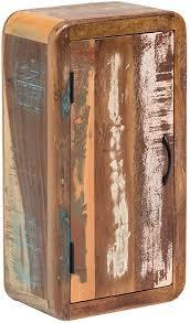 woodkings bad hängeschrank kalkutta recyceltes holz bunt