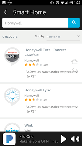 Setting Up Honeywell Smart Thermostat on Echo