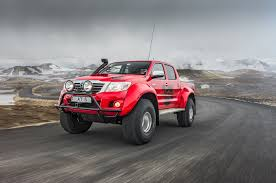 100 Hilux Truck Going Viking In Iceland With An Arctic S Toyota AT38