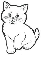 House Pets Coloring Pages Kitty Cat Free Printable Disney Junior