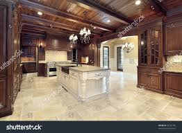 100 Wood Cielings Large Modern Kitchen Ceilings RoyaltyFree Stock Image