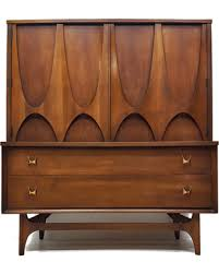 bargains on broyhill brasilia highboy tall dresser door chest