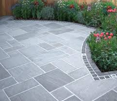 Beautiful Grey Stone In An Ashlar Pattern Offers A More Formal And Deliberate Design Than Random Flagstone