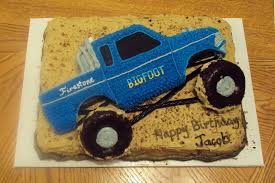 100 Truck Cake Pan Bigfoot Monster Made As An 11x15 Sheet Pan With The Truck Pan