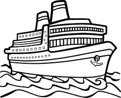 Ship Clipart Black And White ClipartXtras