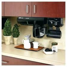 Coffee Cabinet Under Counter Maker