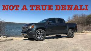 A $50,000 QUARTER-TON TRUCK?!---2018 GMC Canyon Denali Diesel Review ...