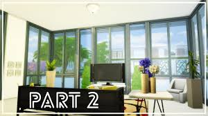 100 Modern Stucco House The Sims 4 Mansion Part 2