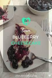 PIN Lemon Blueberry Cheesecake