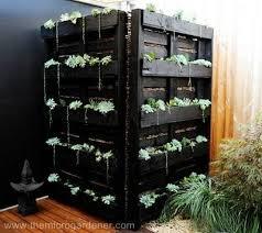 Dual Solution Garden Art And Functional Water Tank Screen