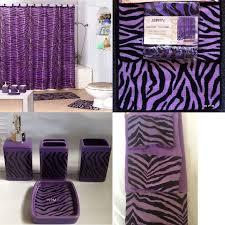Leopard Print Bathroom Set Walmart by Zazzling Zebra Print Bathroom Decor Purple Zebra Bathroom Decor Tsc