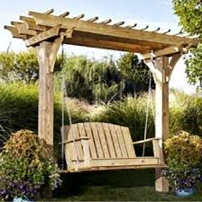 How to Make Arbor Swing Plans – Outdoor Furniture Plans Projects