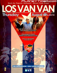 Conga Room La Live Concerts by Los Van Van Live At Conga Room The 4th Of August 2011 Tickets
