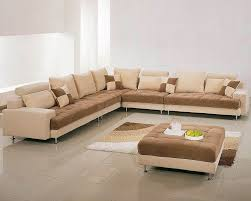 Best Fabric For Sofa Set by Two Tone Fabric Contemporary Sectional Sofa Set 44lg60b