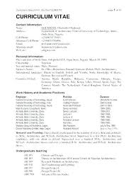 Best Resume Sample Format Example Of The