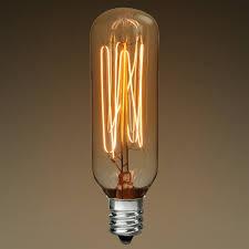 40w t25 antique light bulb squirrel cage