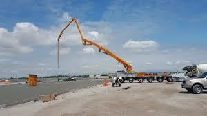 100 Concrete Pumper Truck CONCORDs 62Meter Pump YouTube