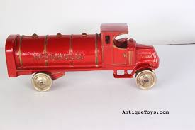 100 Toy Tanker Trucks Dent American Oil Cast Iron Mack Truck Sold Antique S