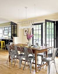 Yes Please Tolix Chairs Rustic Farmhouse Dining Room Decor
