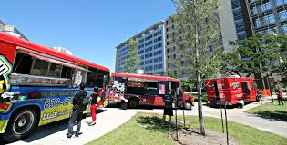 100 Food Trucks Houston Trucks A Popular Program On Campus University Of