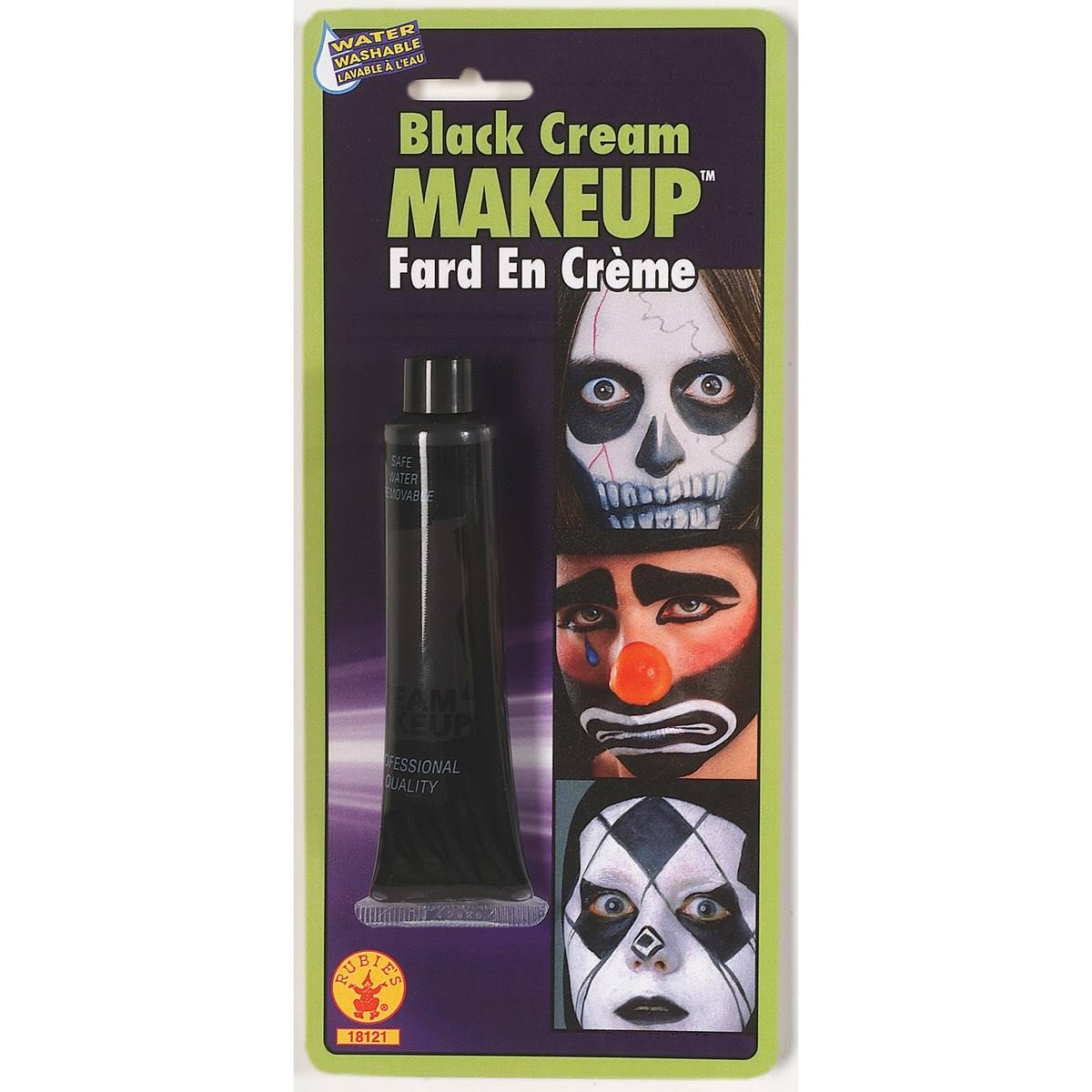 Rubie's Cream Makeup - Black