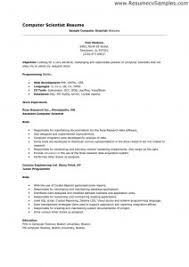 Resume Useful Examples For Science Jobs With Additional Example Insrenterprises Of
