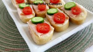 m fr canapes smoked turkey canapes valya s taste of home