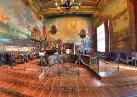 Santa Barbara Courthouse Mural Room by County Of Santa Barbara Community Service Dept Parks Division