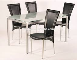 Modern Home Design Furniture Homes Dining Table And 6 Chairs Stainless  Steel Tempered Frosted Glass Marble Dining Room Table Set - Buy Dinning Set  ... Details About Set Of 5 Pcs Ding Table 4 Chairs Fniture Metal Glass Kitchen Room Breakfast 315 X 63 Rectangular Silver Indoor Outdoor 6 Stack By Flash Tarvola Black A 16 Liam 1 Tephra Alba Square Clear With Ashley 3025 60 Metalwood Hub Emsimply Bara 16m Walnut Signature Design By Besteneer With Magnificent And Ding Table Glass Overstock Alex Grey Counter Height