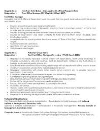General Manager Resume Sample 3 Restaurant Example