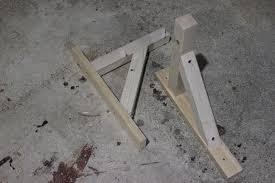 diy shelf brackets wood home