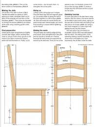 Pine Dining Table And Chairs Plans WoodArchivist Room Chair