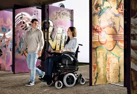 Quickie In The Bathroom by Quickie Salsa M2 Mini Power Wheelchair Sunrise Medical