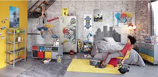 deco chambres ado déco chambre ado sur le thème skateboard