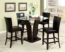Coaster Home Furnishings Black Contemporary Dining