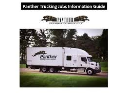 100 Panther Trucking Company Jobs By Jamessonjohn9 Issuu