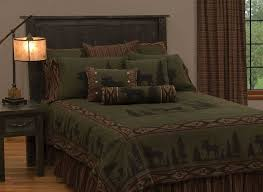 Moose 1 Rustic Lodge Bedding