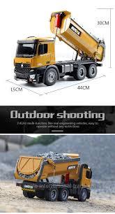 Construction Model Rc Truck Huina 573 Remote Control Dump Truck ...