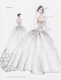 Drawn Wedding Dress Magical